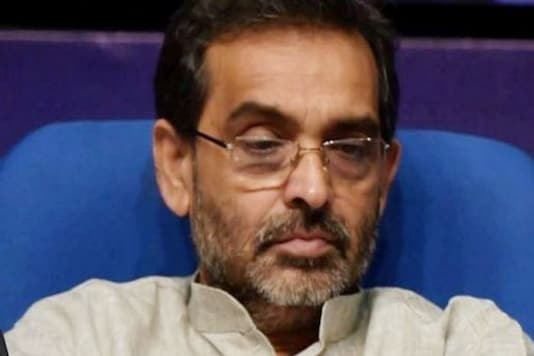 File photo of Upendra Kushwaha. (PTI Photo)