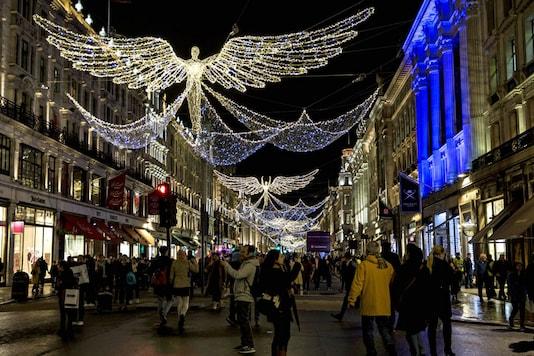 People celebrating Christmas (Representational Image)