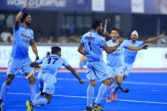File image of Indian hockey team. (Image: Hockey India)