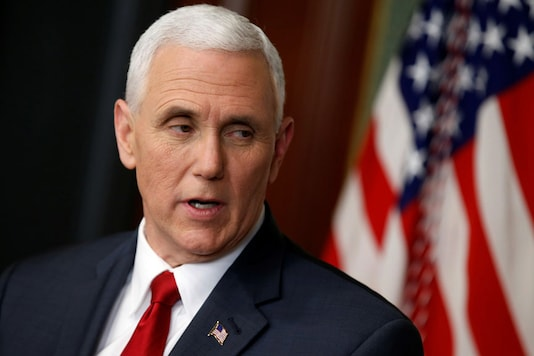 File photo of US Vice President Mike Pence (Reuters)