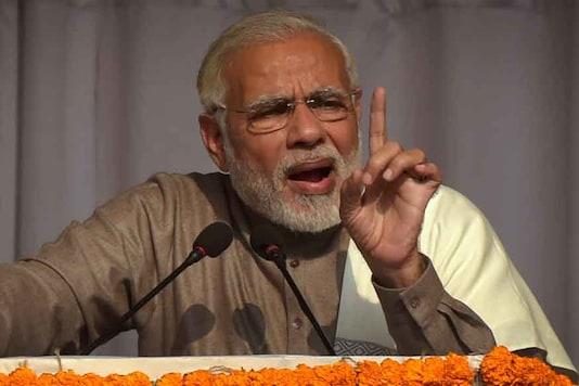 File photo of Prime Minister Narendra Modi. (Image: PTI)