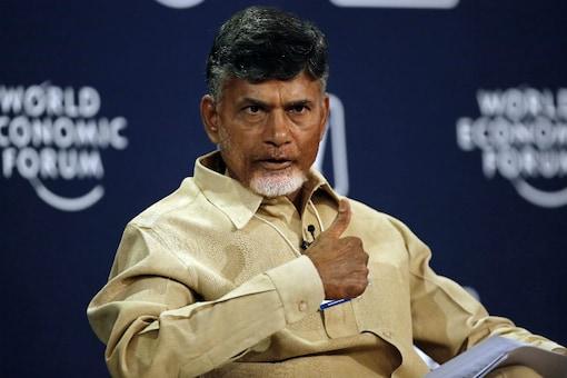 File photo of Andhra Pradesh CM Chandrababu Naidu. (Reuters)