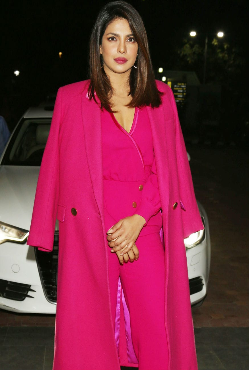 (Photo: Priyanka Chopra at an event in Delhi/ Yogen Shah)