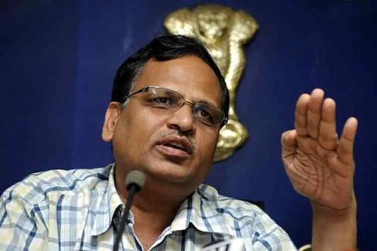 File photo of Delhi Health Minister Satyendra Jain.