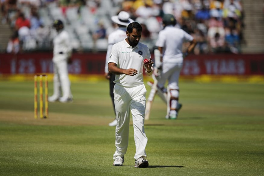 File photo of Mohammed Shami (Image: AFP)