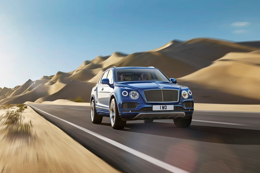 Bentley Bentayga. (Image: Bentley)