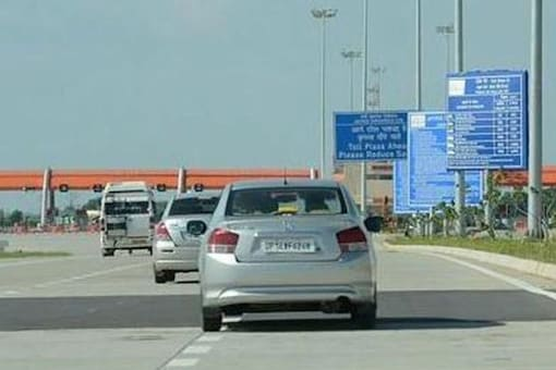 File photo of  Lucknow-Agra Expressway.