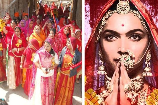 The memorandum said that the march was taken out to ensure that Rani Padmini's honour was maintained and the screening of the Deepika Padukone-starrer Padmaavat, which is set for release on January 25, be stopped or else the Rajput women will perform 'jauhar' on January 24.