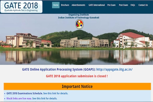 Candidates who have enrolled for GATE 2018 must keep a tab on the official website on Friday, 5th January to download their admit cards