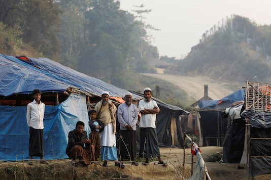 Rohingya refugees are seen in a refugee camp.(Representational image: Reuters)