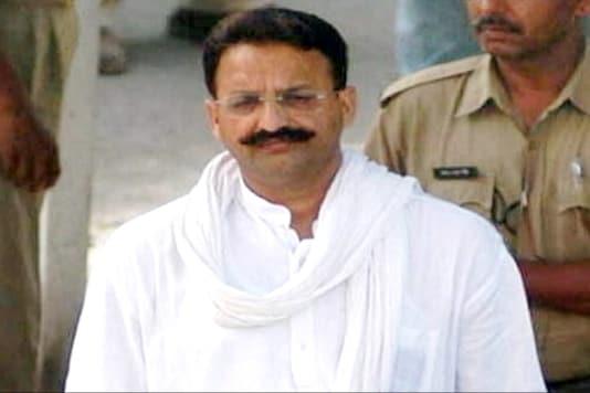 File photo of don-turned-politician Mukhtar Ansari.