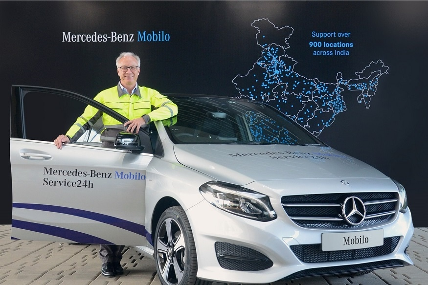 Mercedes Benz Launches Mobilo Customer Assistance Service In India   News18
