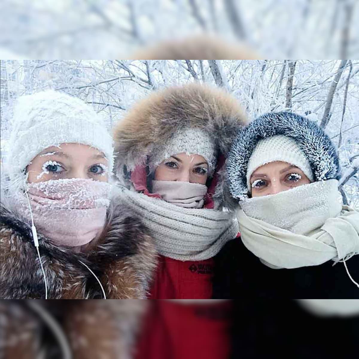 Even Eyelashes Freeze: Russia's Oymyakon Sees Minus 67 Degrees Celsius