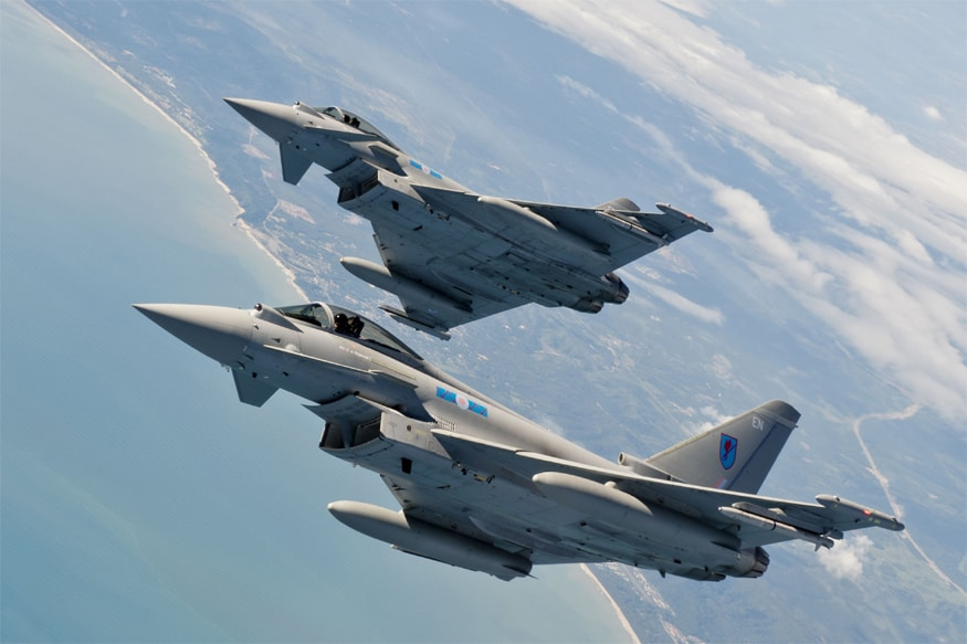 One Pilot Dead, Other Ejected Safely After 2 Eurofighter