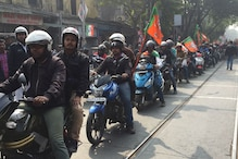 BJP Cross-state Bike Rally Resumes From Kolkata Amid Court Appeals and FIRs