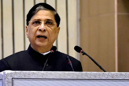 File photo of Chief Justice of India Dipak Misra.