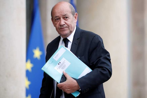 French Foreign Affairs Minister Jean-Yves Le Drian. (Photo: REUTERS/Benoit Tessier)