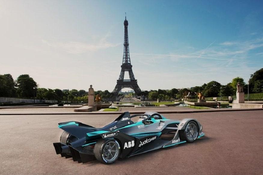 Gen2 Formula E Race Car
