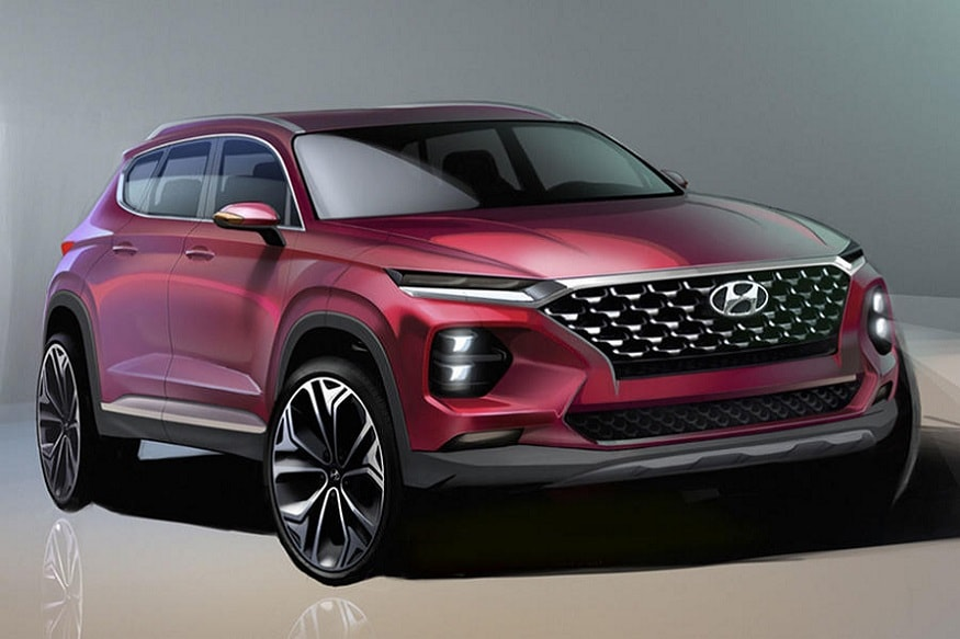 New fourth-generation Hyundai Santa Fe. (Image: AFP Relaxnews)