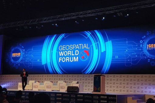 Geospatial World Forum 2018: Global Location Technology Prowess at Full Display (image: Sarthak Dogra)