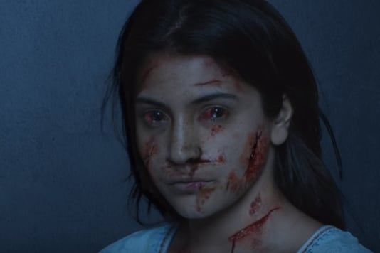 A still from the trailer of Pari.