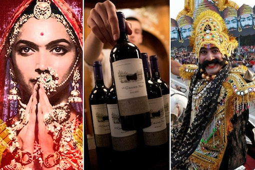 PILs filed before the Supreme Court this year included a pleas for ban 'Padmavati', pictorial health warnings on liquor bottles and for ban on burning of Ravana effigies.