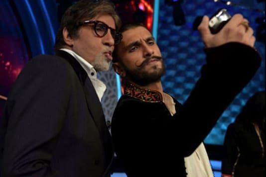 Padmaavat Star Ranveer Singh Gets His 'Award' As Amitabh Bachchan Sends Him A Handwritten Note