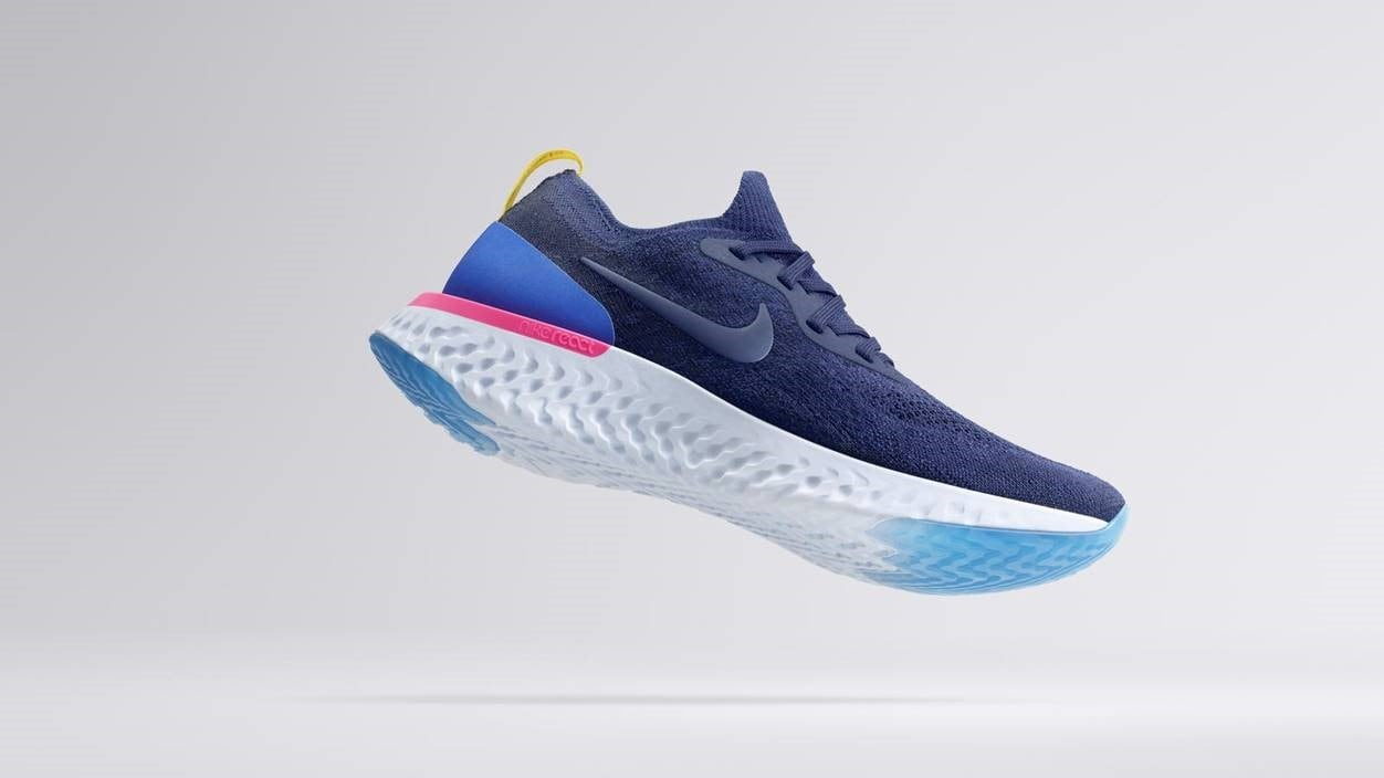 1e00fce8c63fe This is the first running shoe from Nike that will feature proprietary foam  technology. This offers extra cushioning on impact