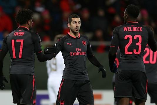 Arsenal's Henrikh Mkhitaryan  (Image: Reuters)