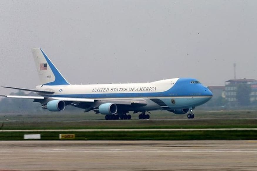 Air Force One. (Photo: Reuters)