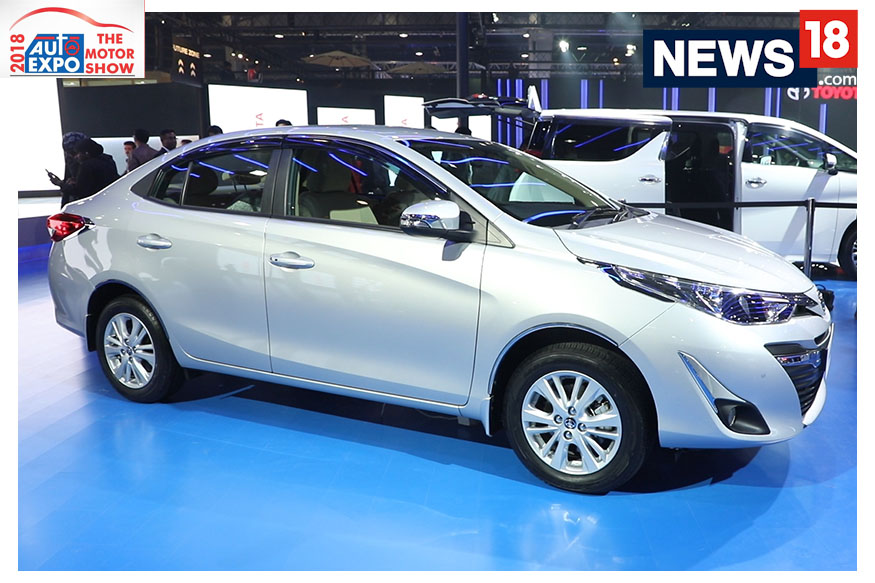Auto Expo 2018 Toyota Yaris Sedan First Look News18