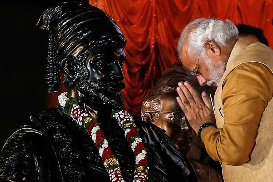 BJP Distances Itself from Book Comparing Modi with Shivaji, Author Says Willing to Revise It