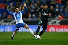 Sloppy Real Madrid Undone by Espanyol, Ronaldo Rested