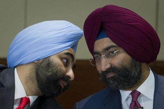File photo of Malvinder Singh and Shivinder Singh. (Courtesy: Reuters)