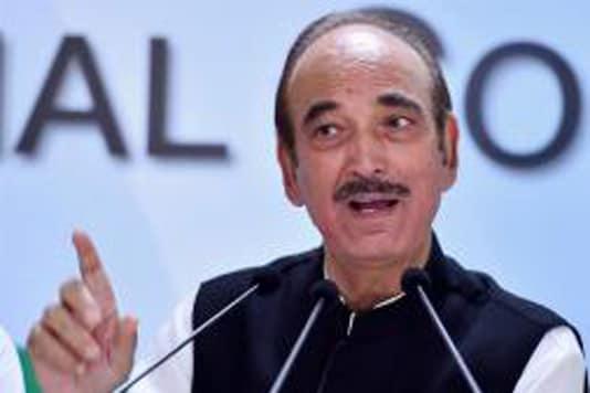 File photo of senior Congress leader and former J&K Ghulam Nabi Azad.