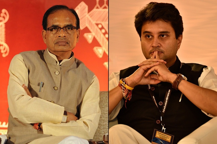 CM Shivraj Singh Chouhan​ Attacks Scindia for Sporting 'Neebu-Mirch' Garland