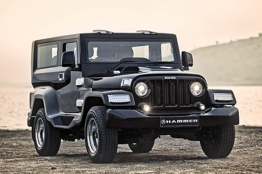 Mahindra Thar Customised By Dc Is Called Hammer Priced Rs 5 95 Lakh Onwards