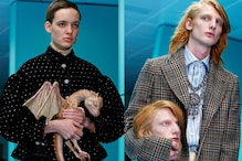 MFW 2018: Gucci Show Features Baby Dragon, Snake, Replica Heads