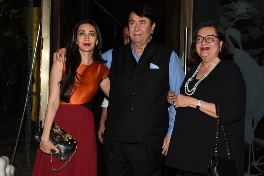 Randhir Kapoor's Birthday Party: A Family Affair - Photogallery