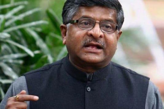 File photo of Union minister Ravi Shankar Prasad.