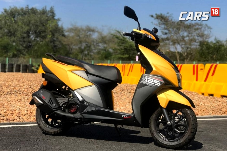 Tvs Ntorq 125 Scooter Launched In Nepal At Npr 225 Lakh News18