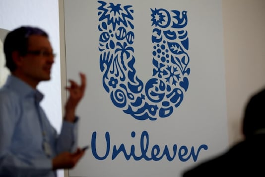 The logo of the Unilever group is seen at the Miko factory in Saint-Dizier, France. (Image: REUTERS/Philippe Wojazer/Files)