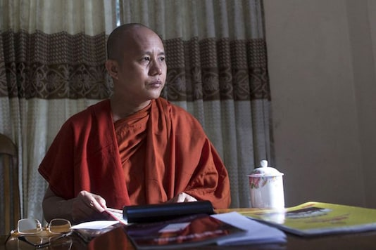 Hardline monks like Wirathu (in pic) took to the platform as well, gaining notoriety for fanning anti-Muslim hatred through inflammatory posts. (Photo: Reuters)