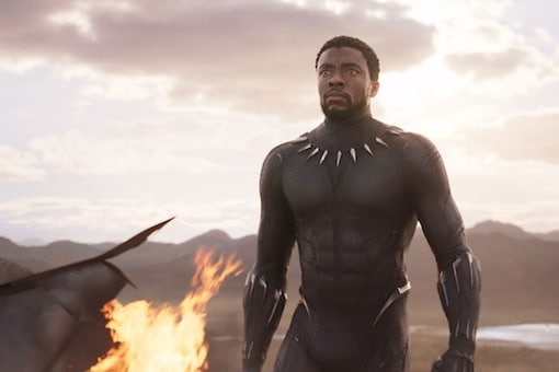 A still from Black Panther.
