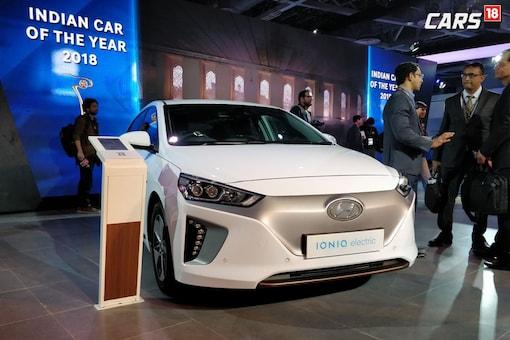 Hyundai IONIQ EV. (Image: Sarthak Dogra/News18.com)