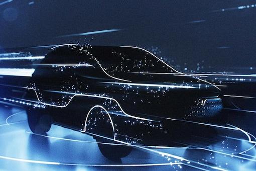 Hyundai Kona teased. (Image: Hyundai)