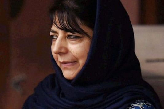 File photo of former Jammu and Kashmir Chief Minister Mehbooba Mufti.