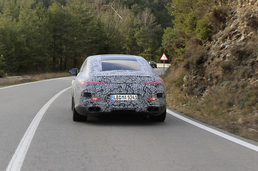 Mercedes-AMG GT four-door. (Image: AFP Relaxnews)