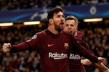 Champions League: Messi Strikes as Barcelona Earn Draw Against Chelsea