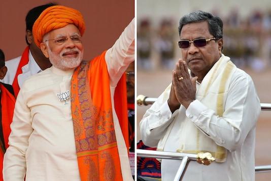 File photos of PM Narendra Modi and Karnataka CM Siddaramaiah.